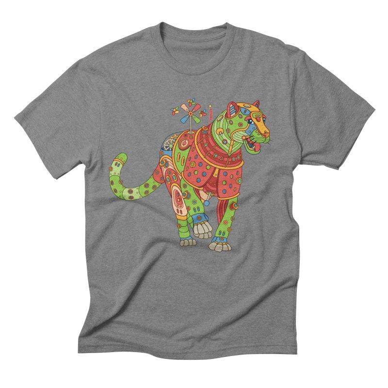 Jaguar, cool art from the AlphaPod Collection Men's Triblend T-Shirt by AlphaPod