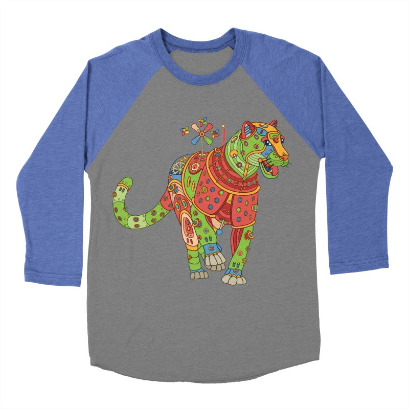 Jaguar, cool wall art for kids and adults alike Women's Baseball Triblend T-Shirt by AlphaPod