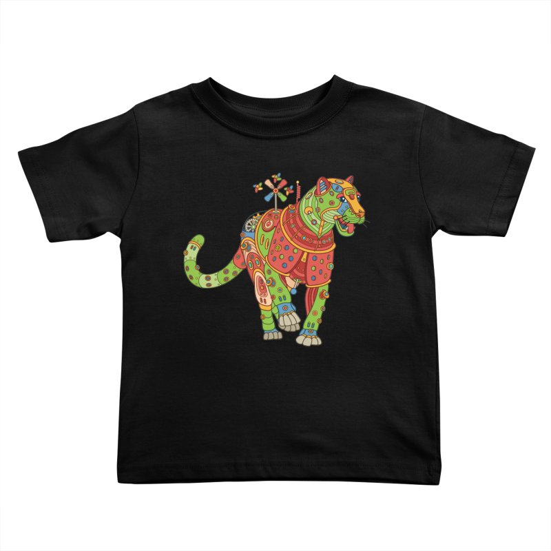 Jaguar, cool wall art for kids and adults alike Kids Toddler T-Shirt by AlphaPod