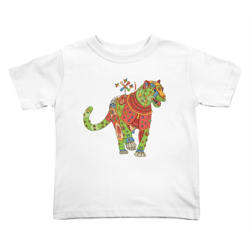 Jaguar, cool art from the AlphaPod Collection Kids Toddler T-Shirt by AlphaPod