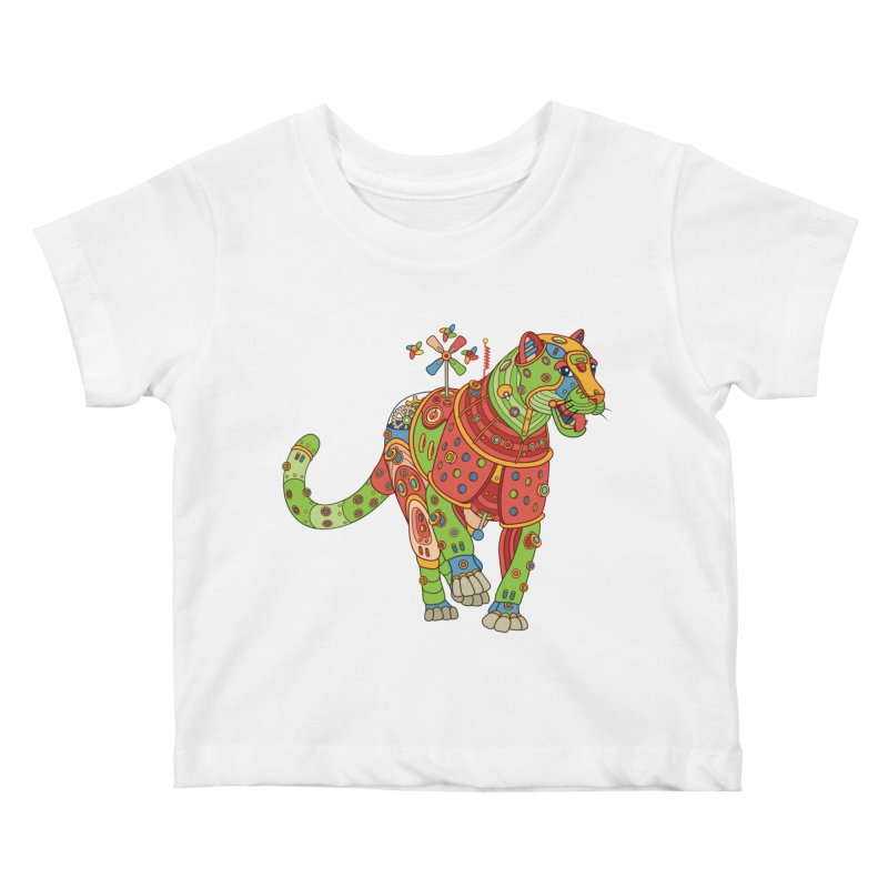 Jaguar, cool art from the AlphaPod Collection Kids Baby T-Shirt by AlphaPod
