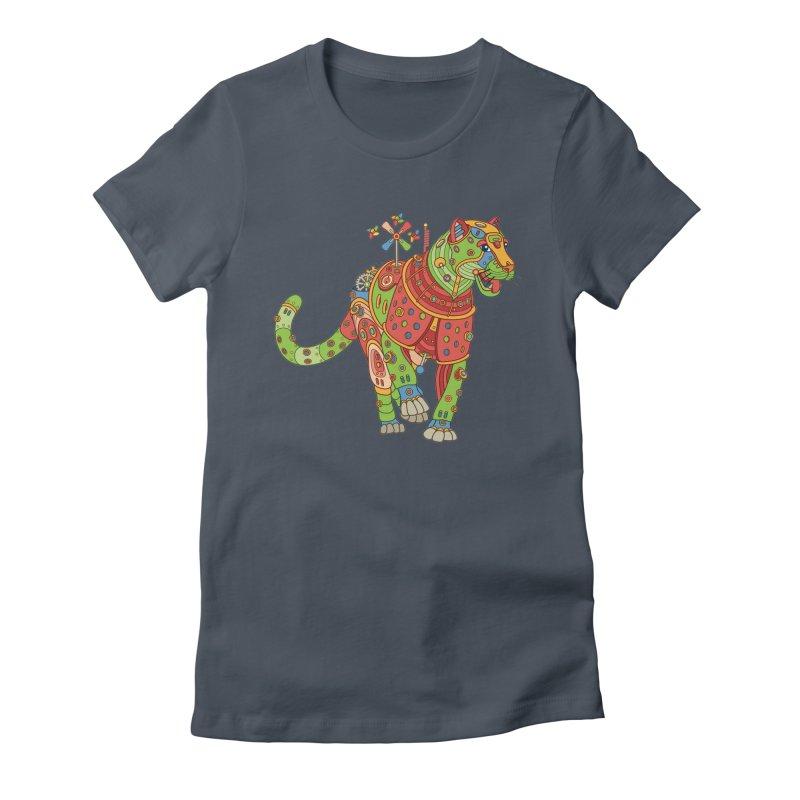 Jaguar, cool art from the AlphaPod Collection Women's T-Shirt by AlphaPod