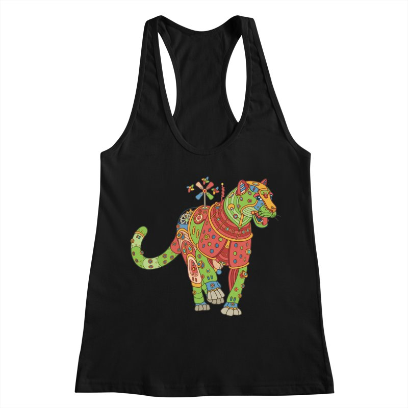 Jaguar, cool art from the AlphaPod Collection Women's Tank by AlphaPod