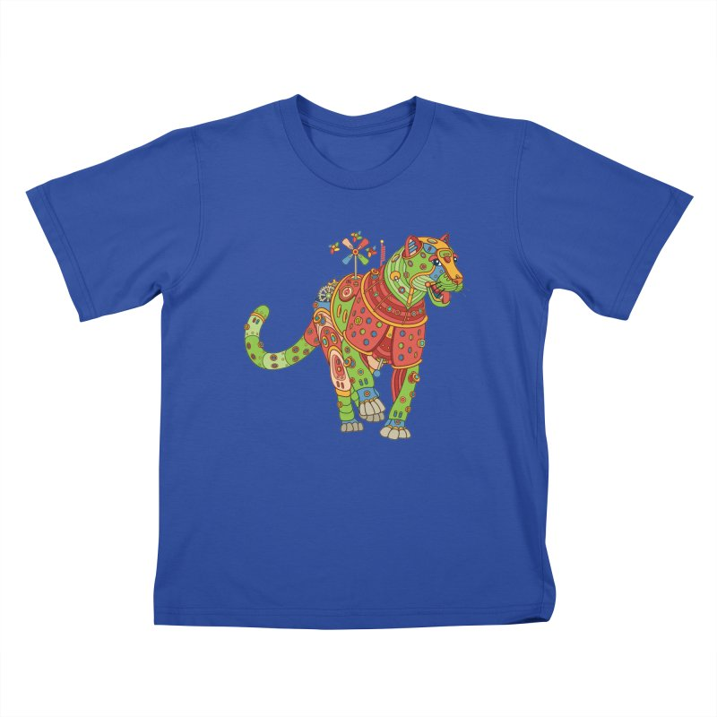 Jaguar, cool art from the AlphaPod Collection Kids T-Shirt by AlphaPod