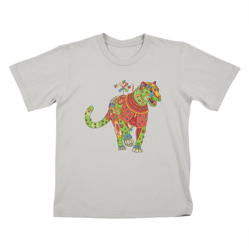 Jaguar, cool wall art for kids and adults alike Kids T-shirt by AlphaPod
