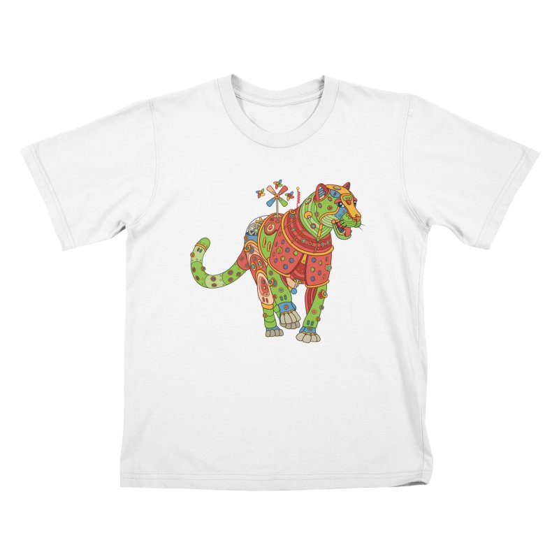 Jaguar, cool art from the AlphaPod Collection Kids T-Shirt by AlphaPod