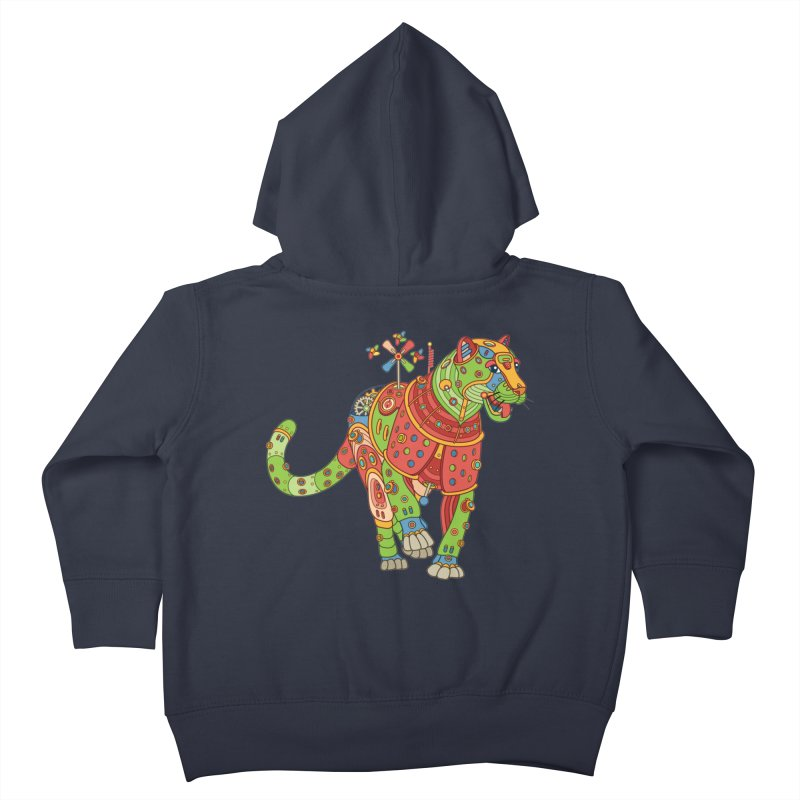 Jaguar, cool art from the AlphaPod Collection Kids Toddler Zip-Up Hoody by AlphaPod