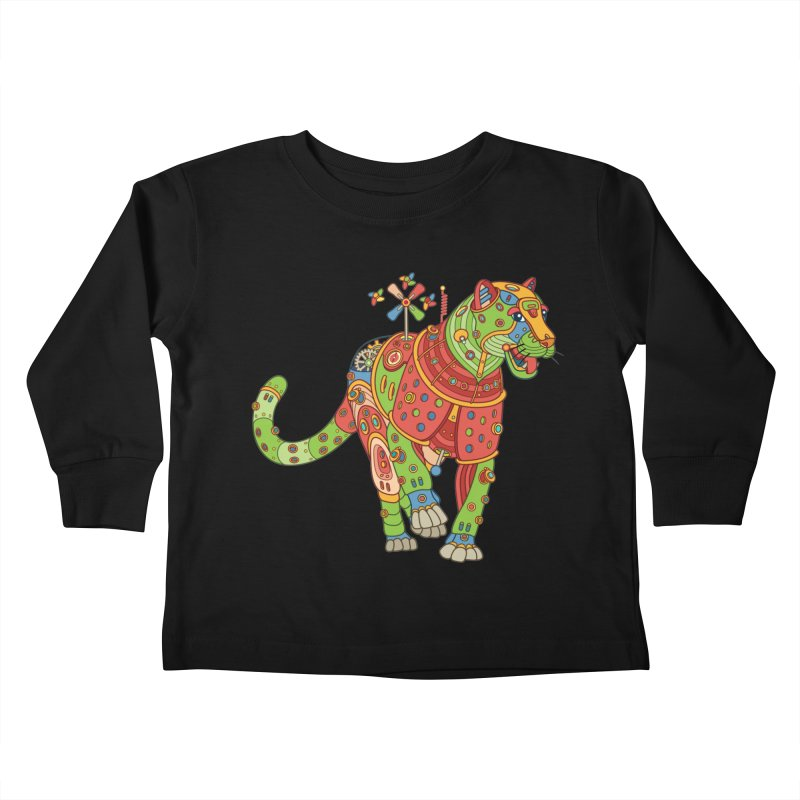 Jaguar, cool art from the AlphaPod Collection Kids Toddler Longsleeve T-Shirt by AlphaPod