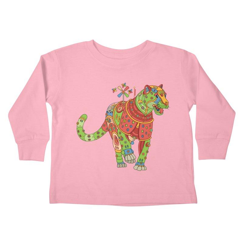 Jaguar, cool art from the AlphaPod Collection Kids Toddler Longsleeve T-Shirt by AlphaPod