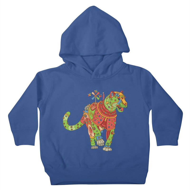Jaguar, cool art from the AlphaPod Collection Kids Toddler Pullover Hoody by AlphaPod