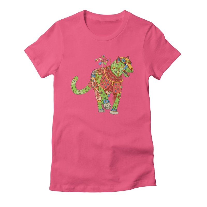 Jaguar, cool art from the AlphaPod Collection Women's T-Shirt by AlphaPod