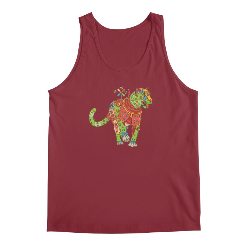 Jaguar, cool art from the AlphaPod Collection Men's Tank by AlphaPod