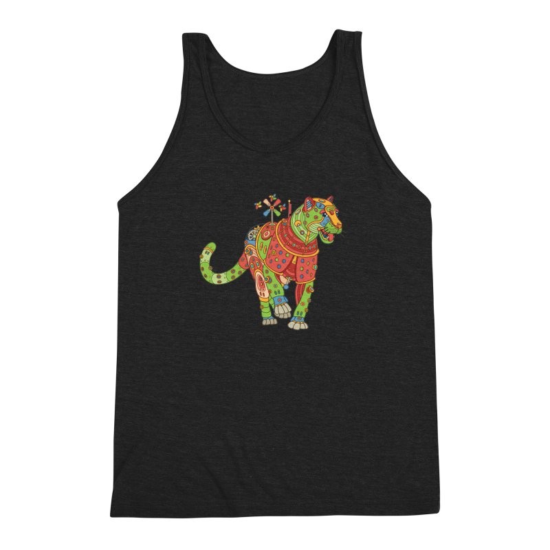 Jaguar, cool art from the AlphaPod Collection Men's Triblend Tank by AlphaPod