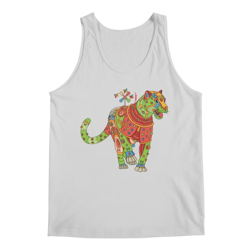 Jaguar, cool art from the AlphaPod Collection Men's Regular Tank by AlphaPod