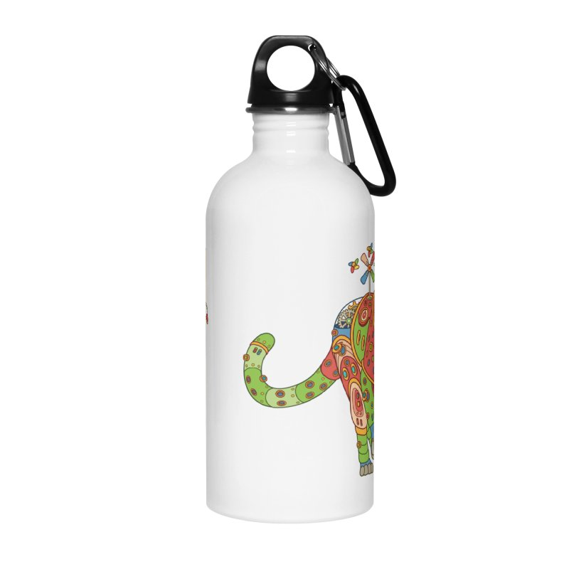 Jaguar, cool art from the AlphaPod Collection Accessories Water Bottle by AlphaPod