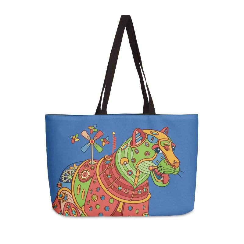 Jaguar, cool art from the AlphaPod Collection Accessories Weekender Bag Bag by AlphaPod