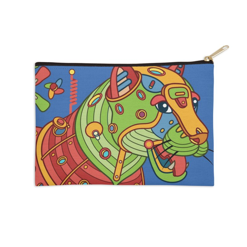 Jaguar, cool art from the AlphaPod Collection Accessories Zip Pouch by AlphaPod