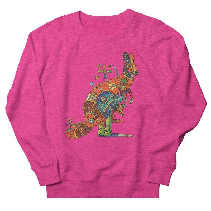 Kangaroo, cool art from the AlphaPod Collection Men's Sweatshirt by AlphaPod
