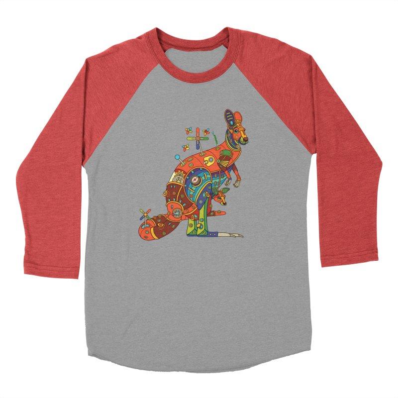 Kangaroo, cool art from the AlphaPod Collection Women's Longsleeve T-Shirt by AlphaPod