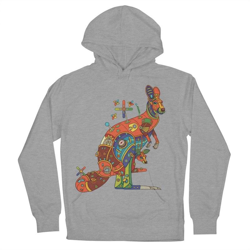 Kangaroo, cool art from the AlphaPod Collection Women's Pullover Hoody by AlphaPod