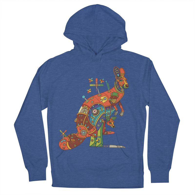 Kangaroo, cool art from the AlphaPod Collection Men's Pullover Hoody by AlphaPod