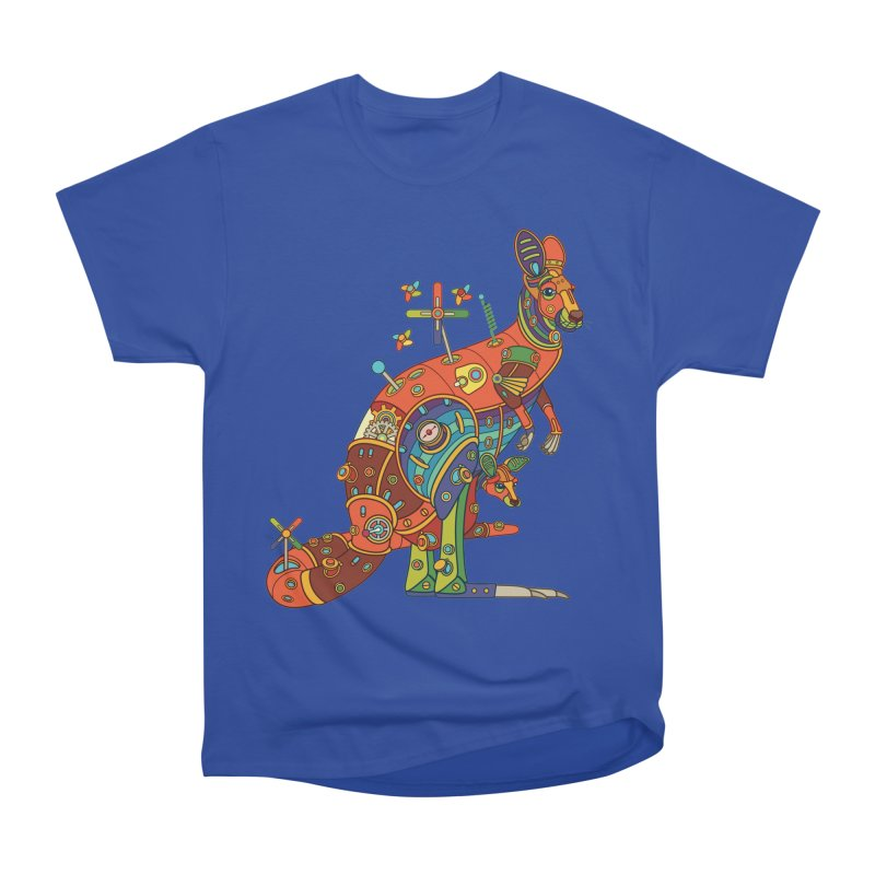 Kangaroo, cool art from the AlphaPod Collection Women's Heavyweight Unisex T-Shirt by AlphaPod