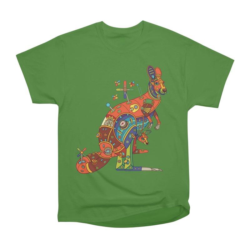 Kangaroo, cool wall art for kids and adults alike Men's Classic T-Shirt by AlphaPod