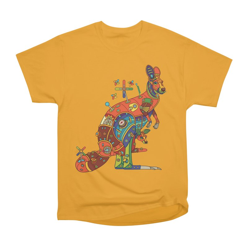 Kangaroo, cool art from the AlphaPod Collection Men's Classic T-Shirt by AlphaPod