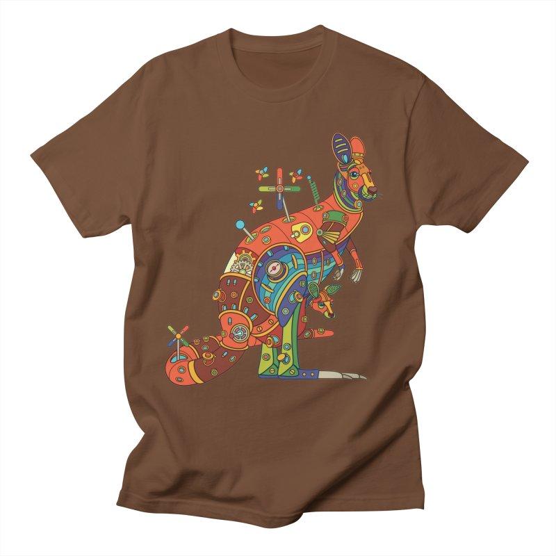 Kangaroo, cool wall art for kids and adults alike Women's Unisex T-Shirt by AlphaPod