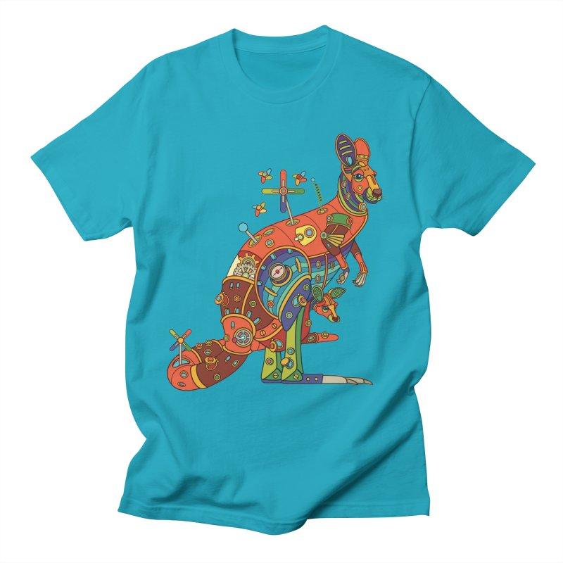 Kangaroo, cool art from the AlphaPod Collection Men's T-Shirt by AlphaPod