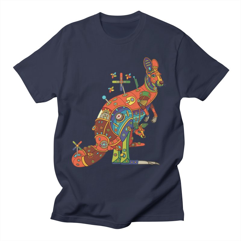 Kangaroo, cool art from the AlphaPod Collection Women's Regular Unisex T-Shirt by AlphaPod