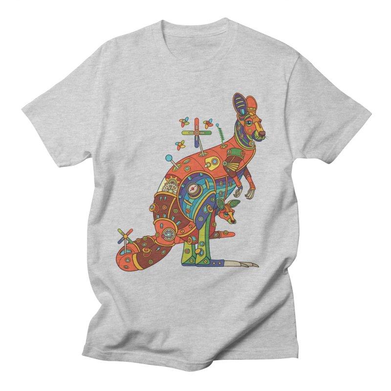 Kangaroo, cool art from the AlphaPod Collection Women's Regular Unisex T-Shirt by AlphaPod