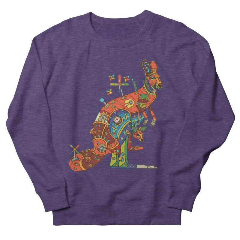 Kangaroo, cool art from the AlphaPod Collection Women's Sweatshirt by AlphaPod