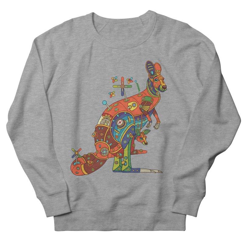 Kangaroo, cool art from the AlphaPod Collection Women's Sweatshirt by AlphaPod