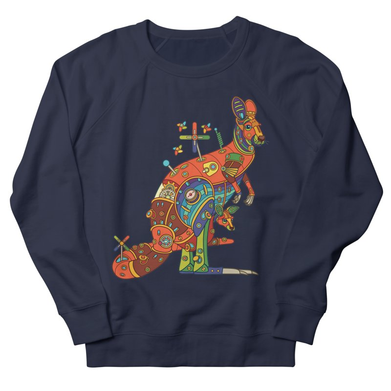 Kangaroo, cool art from the AlphaPod Collection Women's French Terry Sweatshirt by AlphaPod