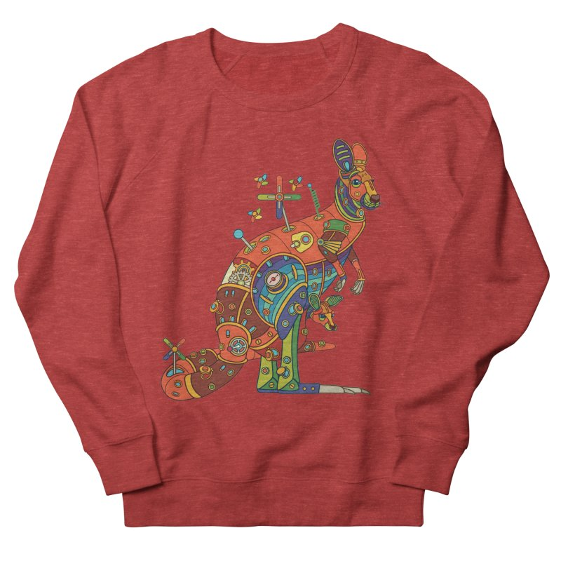 Kangaroo, cool art from the AlphaPod Collection Men's Sweatshirt by AlphaPod