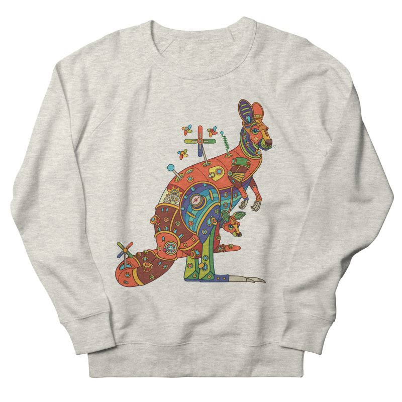 Kangaroo, cool art from the AlphaPod Collection Men's French Terry Sweatshirt by AlphaPod