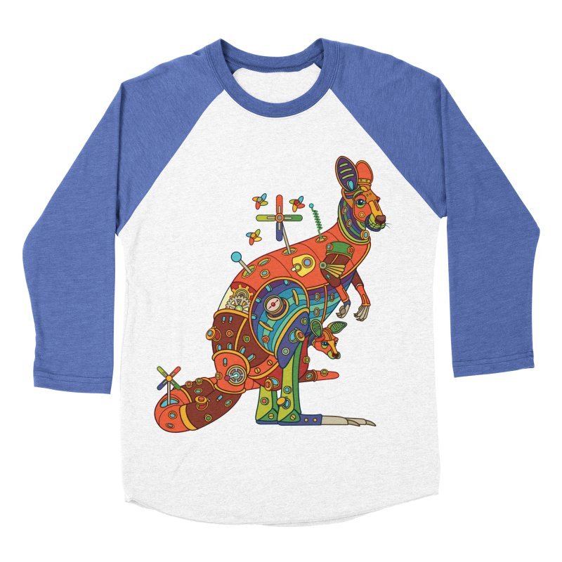 Kangaroo, cool art from the AlphaPod Collection Women's Longsleeve T-Shirt by AlphaPod