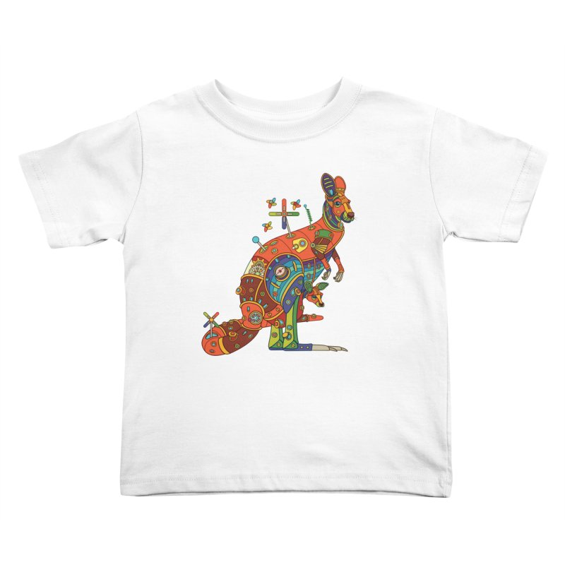 Kangaroo, cool wall art for kids and adults alike Kids Toddler T-Shirt by AlphaPod
