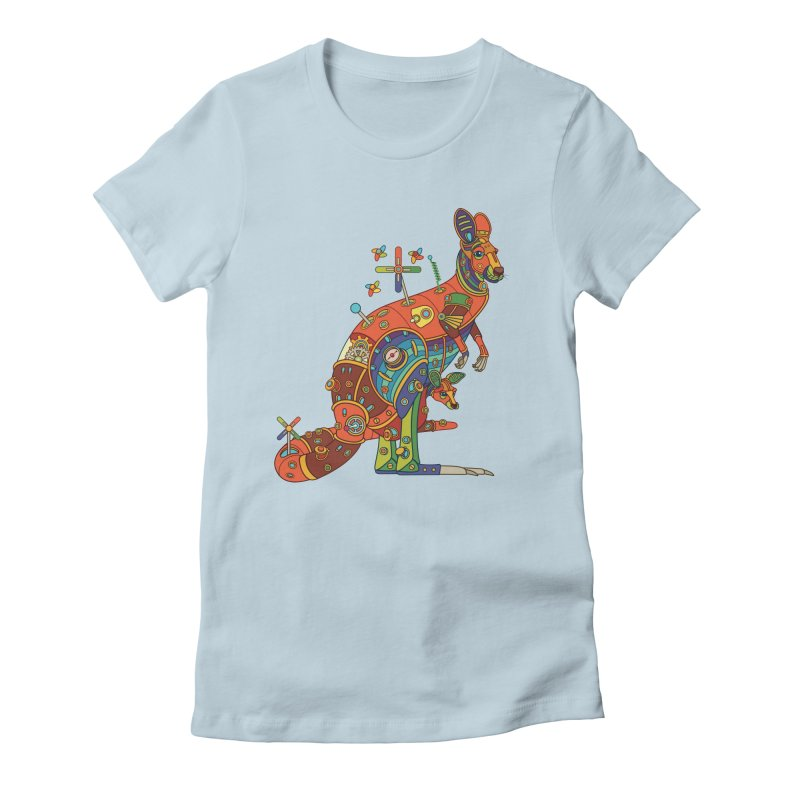 Kangaroo, cool art from the AlphaPod Collection Women's T-Shirt by AlphaPod