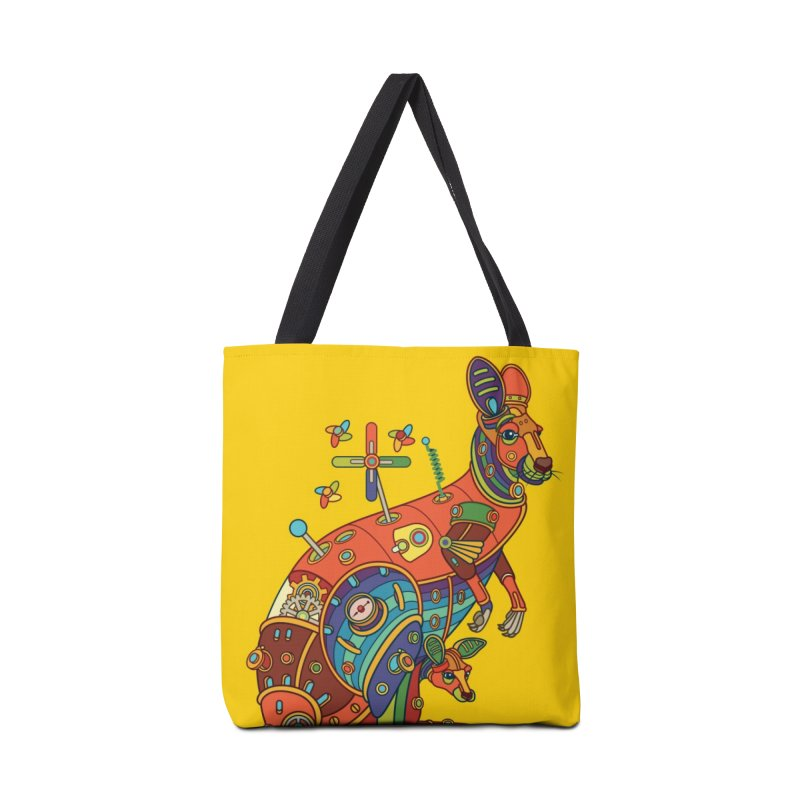 Kangaroo, cool art from the AlphaPod Collection Accessories Bag by AlphaPod