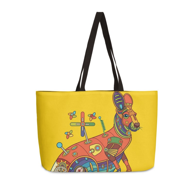 Kangaroo, cool art from the AlphaPod Collection Accessories Weekender Bag Bag by AlphaPod
