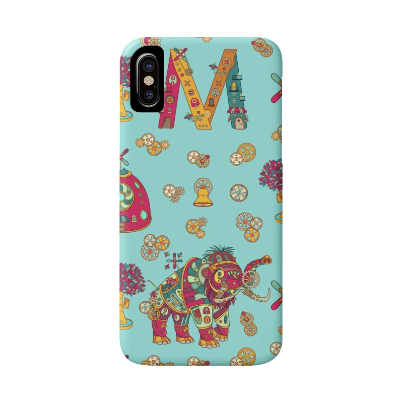 Mammoth, cool wall art for kids and adults alike Accessories Phone Case by AlphaPod