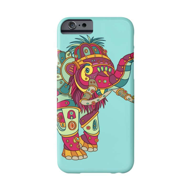 Mammoth, cool art from the AlphaPod Collection Accessories Phone Case by AlphaPod