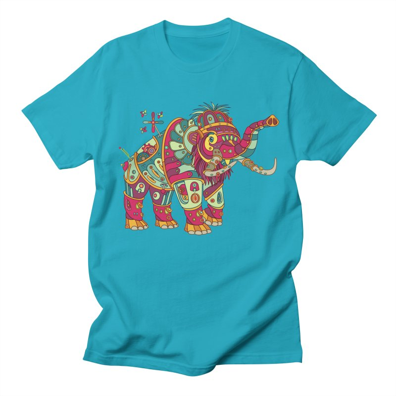Mammoth, cool art from the AlphaPod Collection Men's T-Shirt by AlphaPod