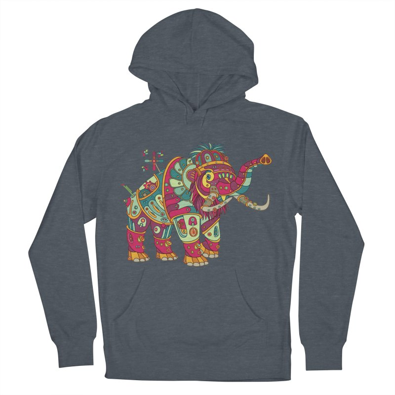 Mammoth, cool art from the AlphaPod Collection Women's Pullover Hoody by AlphaPod