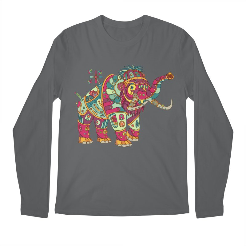 Mammoth, cool art from the AlphaPod Collection Men's Longsleeve T-Shirt by AlphaPod