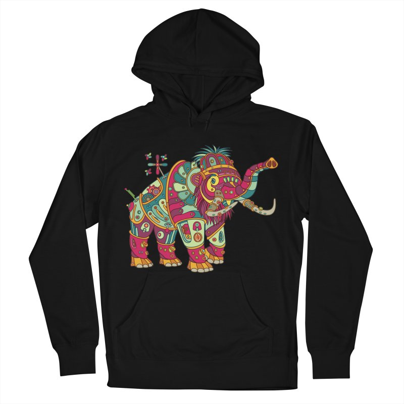 Mammoth, cool art from the AlphaPod Collection Women's French Terry Pullover Hoody by AlphaPod