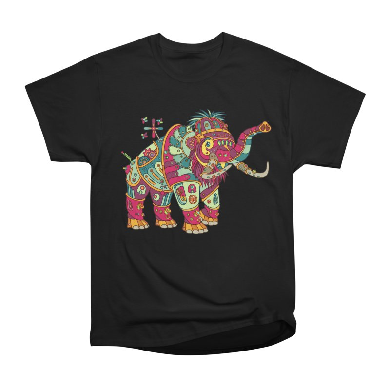 Mammoth, cool art from the AlphaPod Collection Women's Heavyweight Unisex T-Shirt by AlphaPod