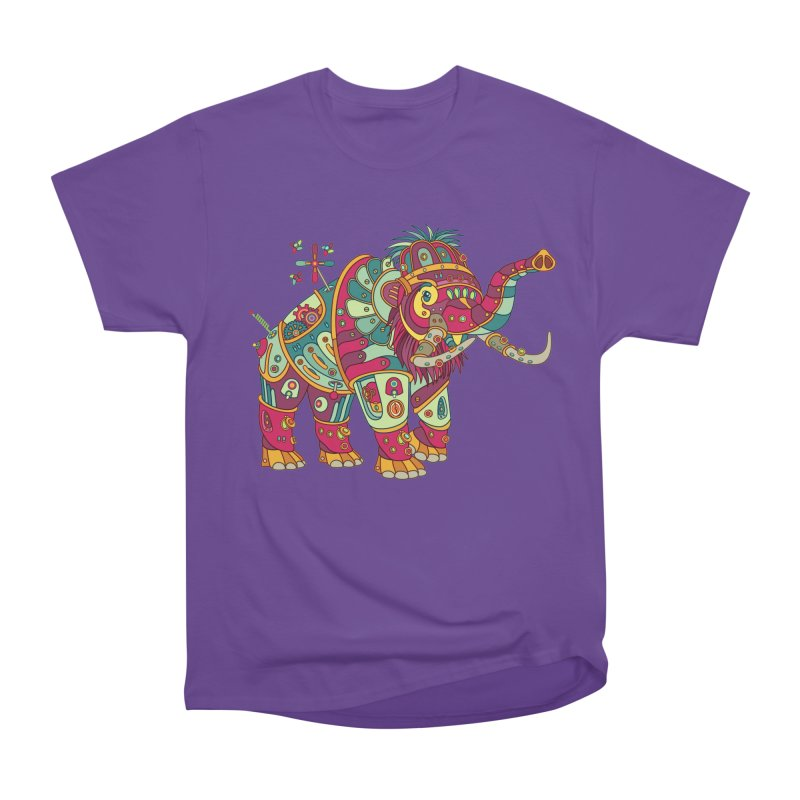 Mammoth, cool art from the AlphaPod Collection Men's Heavyweight T-Shirt by AlphaPod